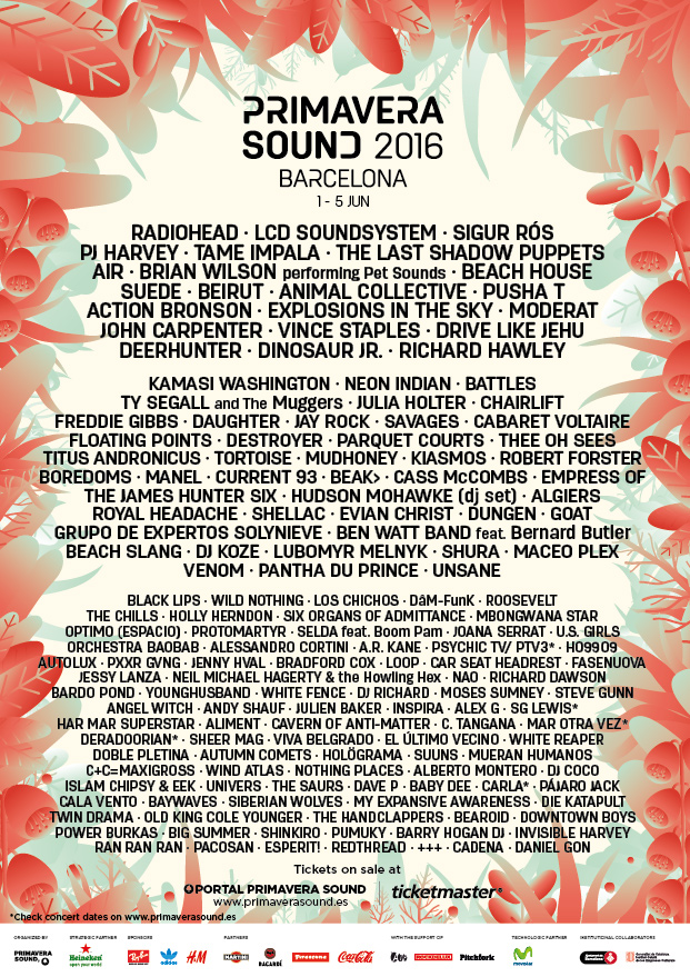 PRIMAVERA SOUND EMBRACES MUSICAL DIVERSITY IN A STAR-STUDDED LINE-UP