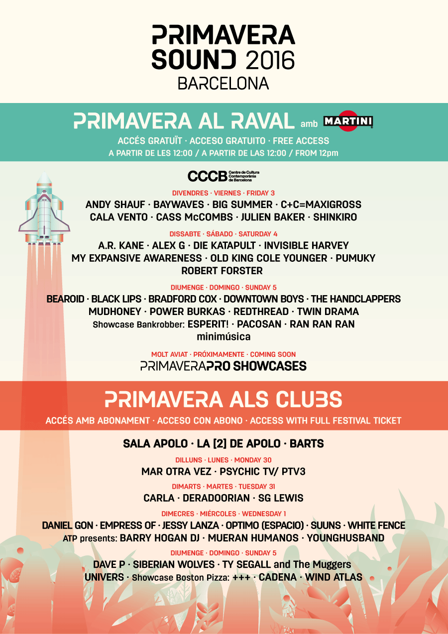 EL RAVAL, EPICENTRE OF PRIMAVERA SOUND IN THE CITY