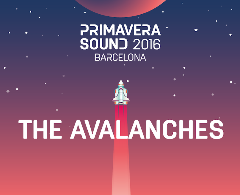 THE AVALANCHES SE SUMAN AL CARTEL DE PRIMAVERA SOUND 2016